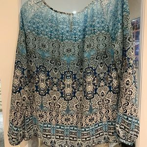 WHBM Geometric Design Top
